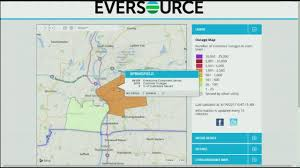 Power Outage Map New York by Eversource Crews Working On Springfield Power Outage Youtube
