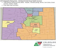 14ers Map New Regional Boundaries Affect Colorado Health Insurance Premiums