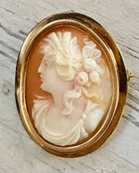 antique gold cameo necklace images Cameo love yourgreatfinds jpg