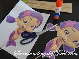 Bubble Guppies Birthday Decorations Bubble Guppies Ariel Birthday Party Lets Celebrate