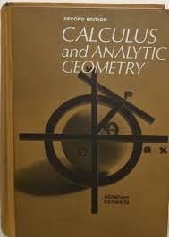 calculus and analytic geometry abraham schwartz 9780030608759