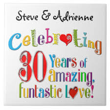 30th anniversary gift 30th wedding anniversary gifts on zazzle