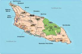 Caribbean Sea On Map by Aruba Real Estate And Property For Sale By Area