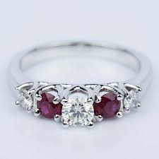 engagement rings with birthstones custom engagement rings with birthstones