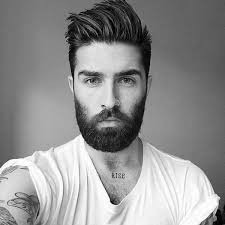 hairstyles that go with beards best 25 haircuts with beards ideas on pinterest fade with beard