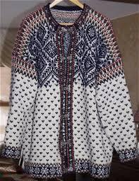 norwegian sweater patterns circular cut garments