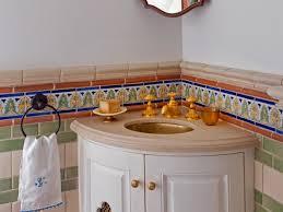 corner bathroom sinks hgtv corner bathroom sinks