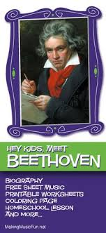 beethoven biography in brief ludwig van beethoven homeschool music lesson plans and many more