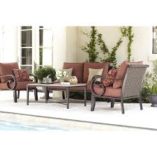 Jamie Durie Patio Furniture by Shop Allen Roth 2 Piece Pardini Patio Loveseat And Coffee Table