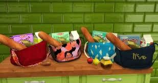 a3ru various drug clutter sims 4 downloads budgie2budgie grocery bag sims 4 downloads sims 4 objects