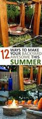 12 ways to make your backyard awesome this summer