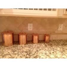 copper canisters kitchen copper canister sets thing