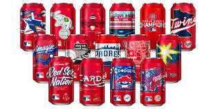 bud light nfl cans 2017 where to buy hometown artists and lifelong baseball fans designed these fun mlb
