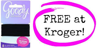 goody s hair free goody s hair bands at kroger become a coupon