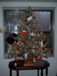 xmas tree on table miniature tabletop christmas tree decorating ideas family holiday
