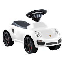 porsche cars white porsche licensed 911 push along car charles bentley