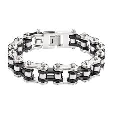 black chain bracelet images Mens bike chain bracelets bike chain jewelry jpg