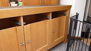 Sideboard For Kitchen How I Designed And Built My Bespoke Oak Kitchen From 2nd Hand