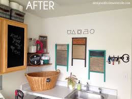Laundry Room Wall Decor Laundry Room Makeover A Renter Friendly Cabinet Makeover Hometalk