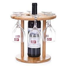 outdoor wine glass holder table ukgood portable and detachable 100 natural bamboo outdoor wine