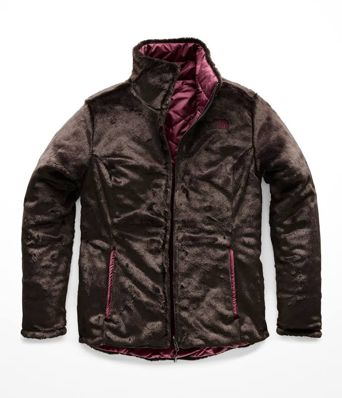 The North Face Mossbud Reversible Jacket Women Fig/Bittersweet Brown (NF0A3MER6GM) (Small)