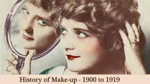 the history of makeup 1900 to 1919 glamourdaze