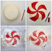 giant paper plate lollipops for christmas adorable super cute