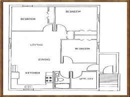 two bedroom cabin floor plans 12 inspiring small cabin plans with basement house plan ideas
