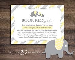 instead of a card bring a book bring a book instead of a card baby shower photo