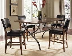 hillsdale cameron rectangular counter height dining set with