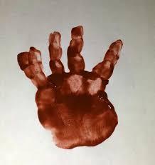 handprint reindeer christmas craft for kids paint project