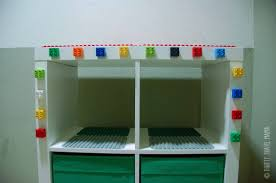 Lego Table With Storage For Older Kids Ikea Hack Expedit Lego Duplo Table With Storage Thrifty Travel Mama