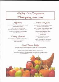 thanksgiving inn thanksgiving menu f2190412 marvelous