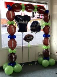 pin by celebrations balloon company on sports themed balloons