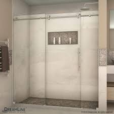 Pros And Cons Of Glass Shower Doors Home Improvement Shower Door Glass Styles Concrete Floors Pros