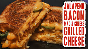 jalapeno bacon mac u0026 cheese grilled cheese youtube