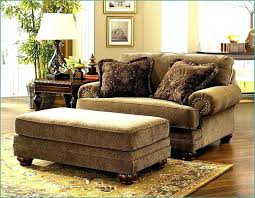 ottoman oversized chairs with attached ottoman century chair