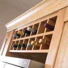 kitchen wine rack ideas stylish kitchen upgrades from diy kits bottle sizes wine rack