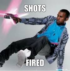 Shots Fired Meme - drake responds to kendrick lamar he s not murdering me at all