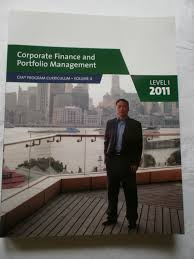amazon com corporate finance and portfolio management level 1