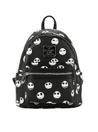loungefly the nightmare before expressions mini backpack
