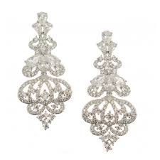 chandelier wedding earrings bridal earrings wedding jewelry bellagio