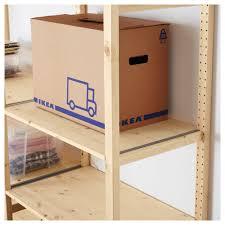 ivar 3 sections shelves pine 259x50x226 cm ikea