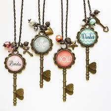 key necklace images Personalized skeleton key necklaces krafty chix deals jpg