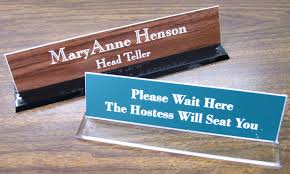 Name Plates For Office Desk Nameplate For Office Desk India Glass Name Plates Furniture Home