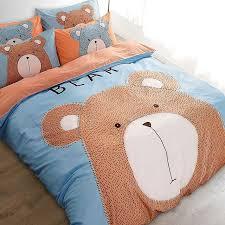 pillow bed for kids 2017 bear duck rabbit cartoon bedding sets duvet cover quilt bedding