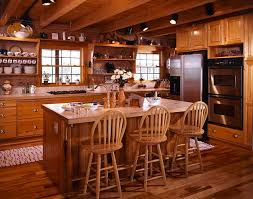Log Cabin Lighting Fixtures Photos Of A South Carolina Log Home Log Cabin Kitchens Kitchen