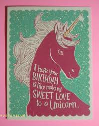 happy birthday greeting card funny american greetings unicorn