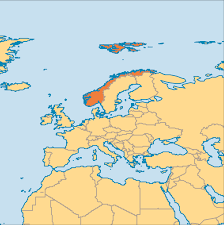 Map Of Norway Sep 23 Norway Operation World
