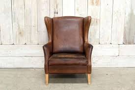 Restoration Hardware Recliner Leather Wingback Chair Crate Barrel Garbo Leather Chair Leather